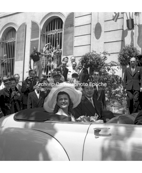 Rita Hayworth - At Her Wedding