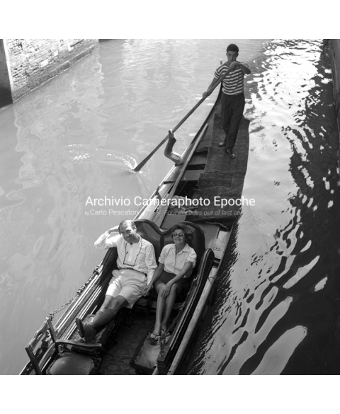 Rita Hayworth - On A Gondola
