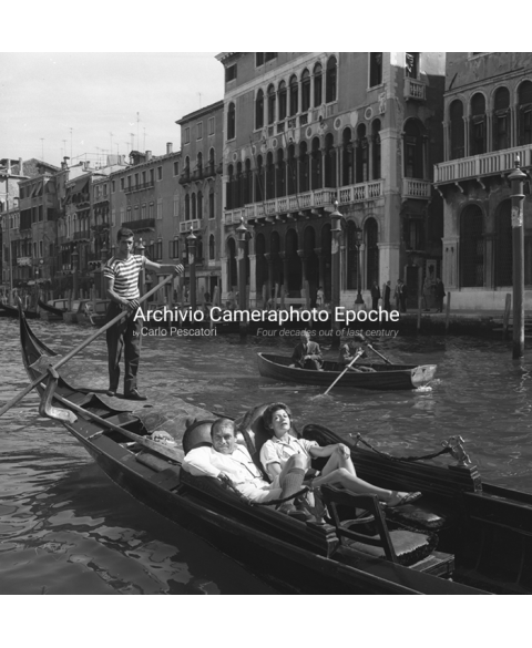 Rita Hayworth - On The Canal Grande