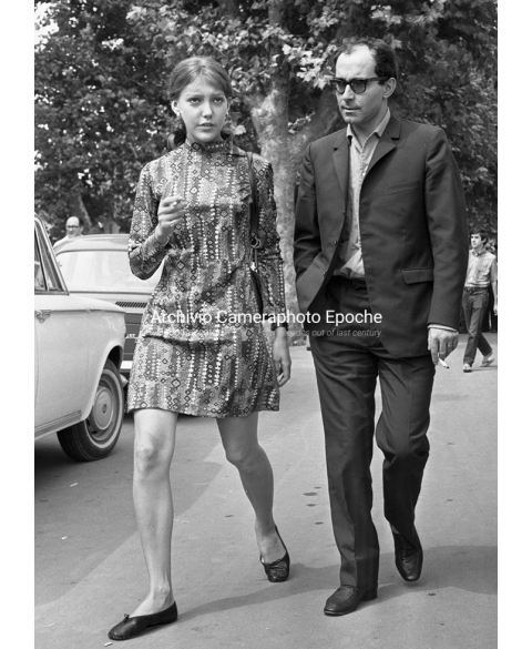 Jean-Luc Godard - With Anne Wiazemsky