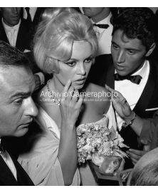 Brigitte Bardot And Sasha Distel