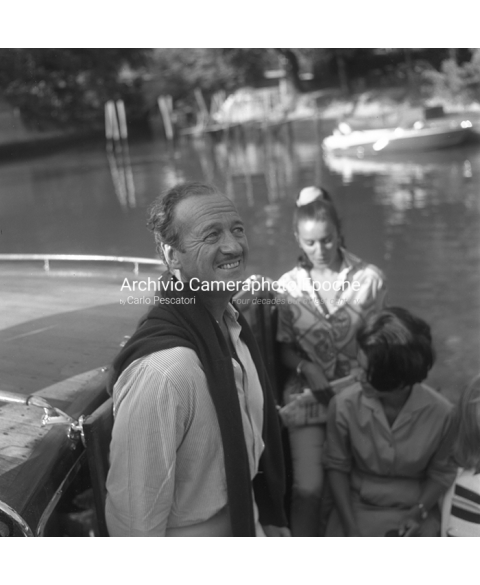 David Niven - On A Water Taxi