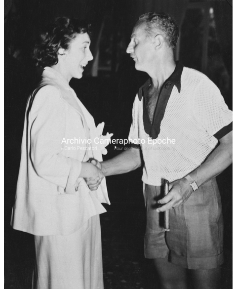 Betsy Blair - With Darryl Francis Zanuck