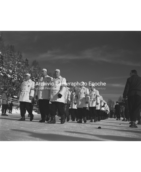 St.Moritz Winter - The Team Parade