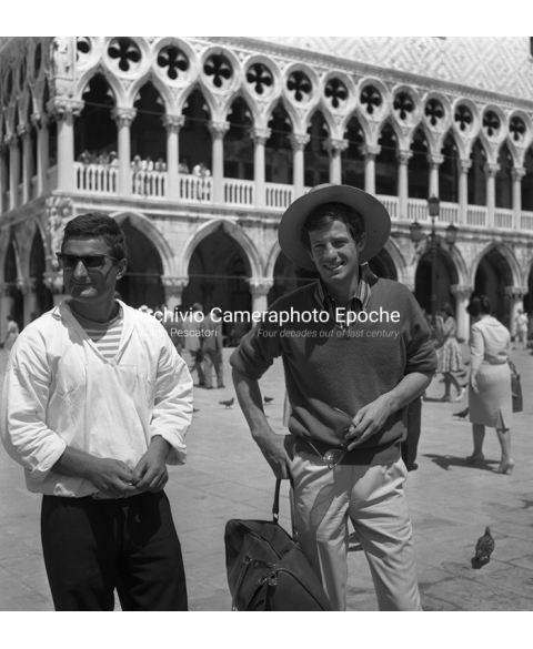 Jean-Paul Belmondo - In St. Mark Square