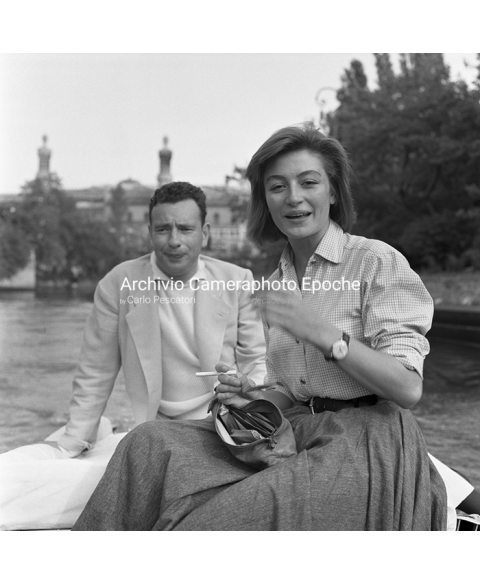 Anouk Aimee - With Alexandre Astruc