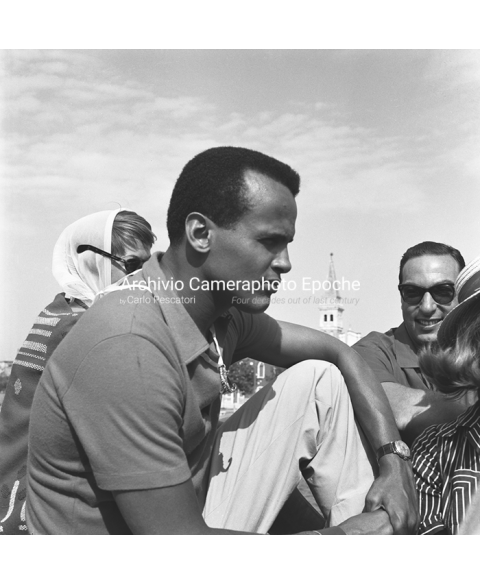 Harry Belafonte - Portrait From The Side