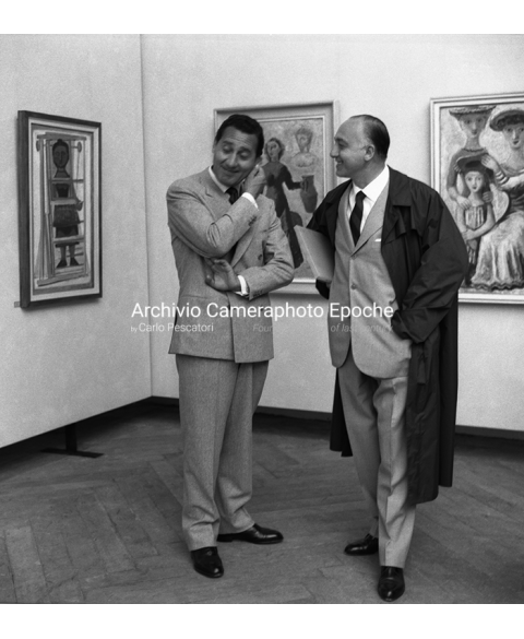 Alberto Sordi - With The Artist Guerrini