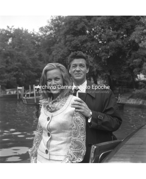 Honor Blackman - With Maurice Kaufmann