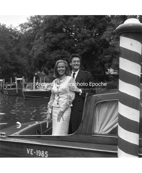 Honor Blackman - On A Water Taxi