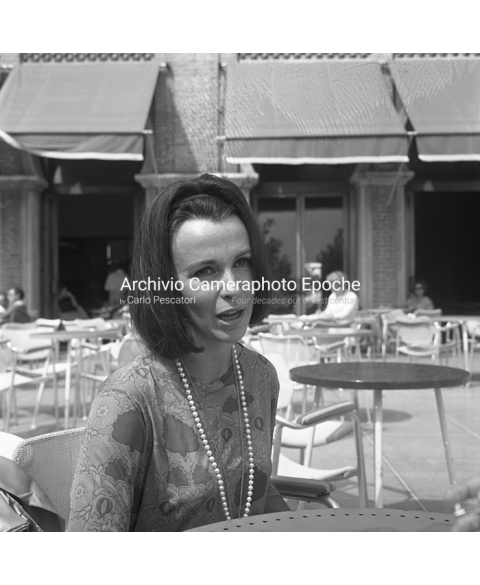 Claire Bloom - Sitting At The Hotel Terrace