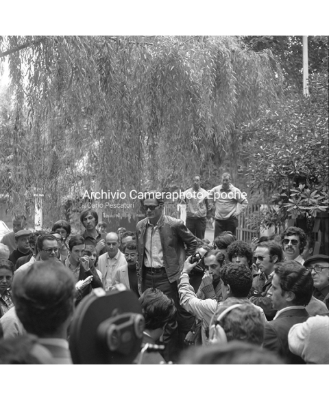 Student Protest - Pasolini Speaking