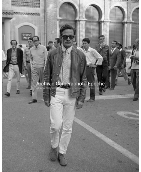 Student Protest - Pierpaolo Pasolini