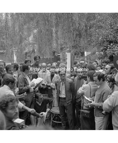 Student Protest - Interviewing Pasolini