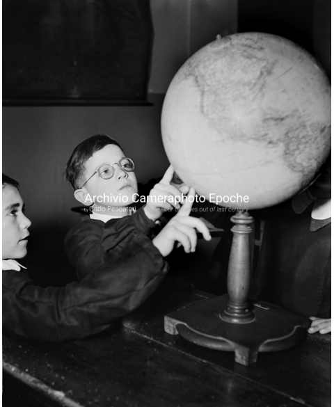 Italian Boys' School - Pointing The Planisphere