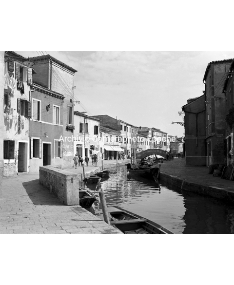 Burano Lace Island - View Of The Canal