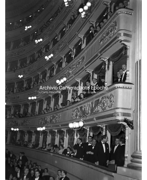 Theater 'La Scala' - Balconies