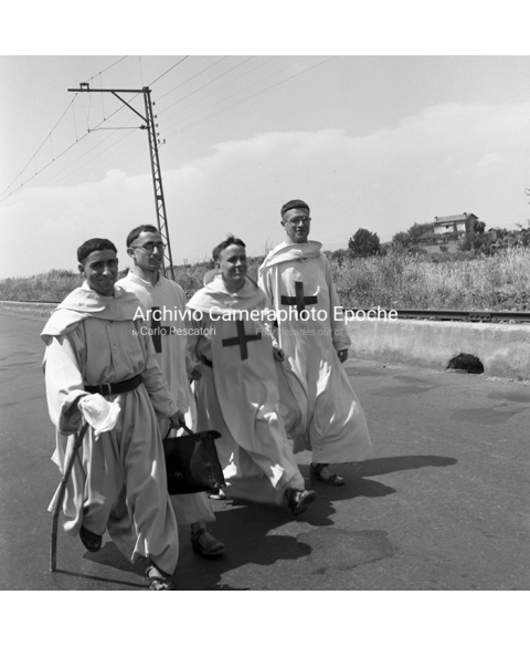 Rome Friars And Ancient Romans - A Walk