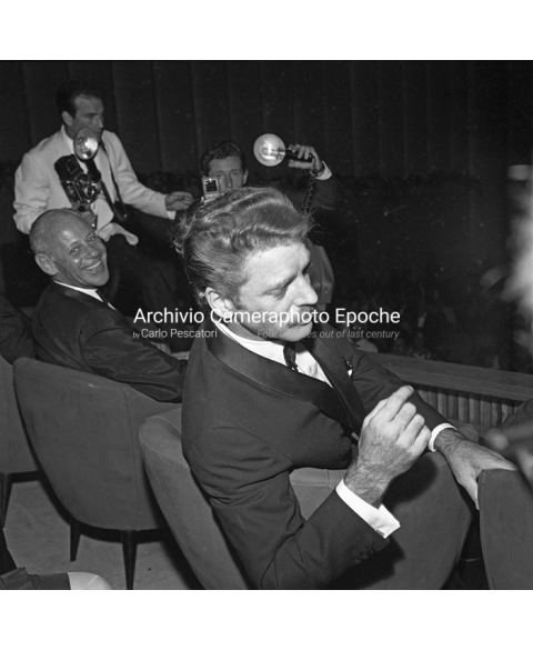 Burt Lancaster - Fleeting From Photographers