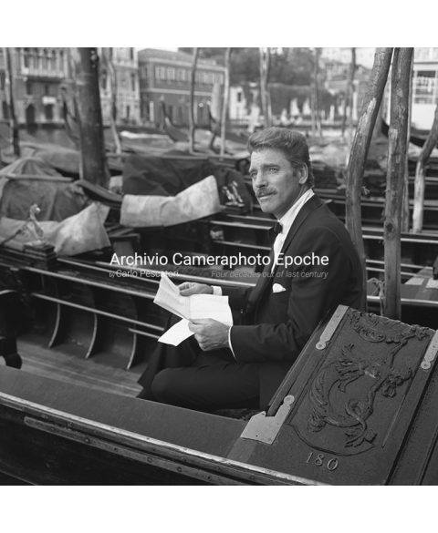 Burt Lancaster - Portrait On A Gondola