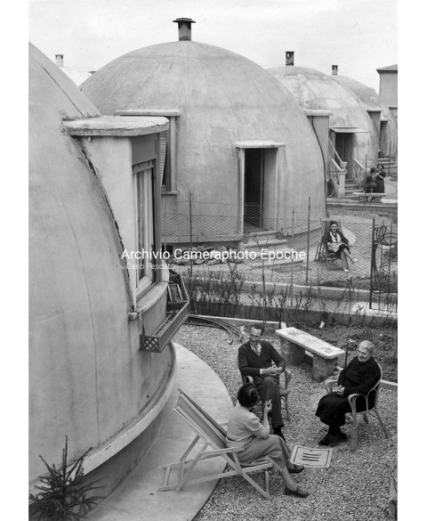 Le Case Igloo - Igloo houses, Milan 1951