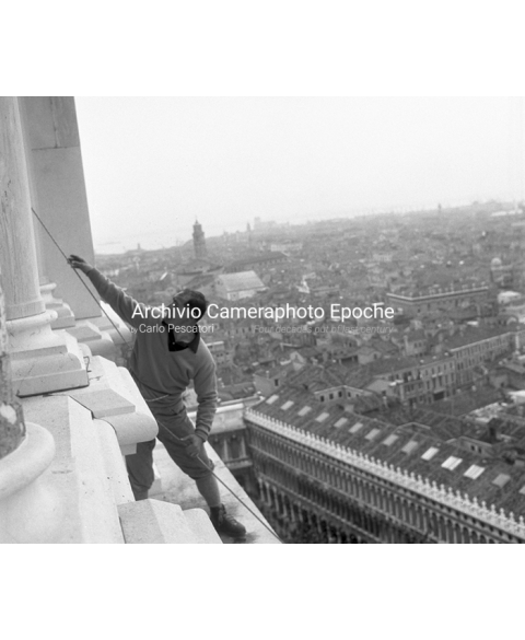 Scalatori Sul Campanile - Climbers on the bell tower 4