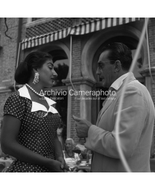 With Luchino Visconti