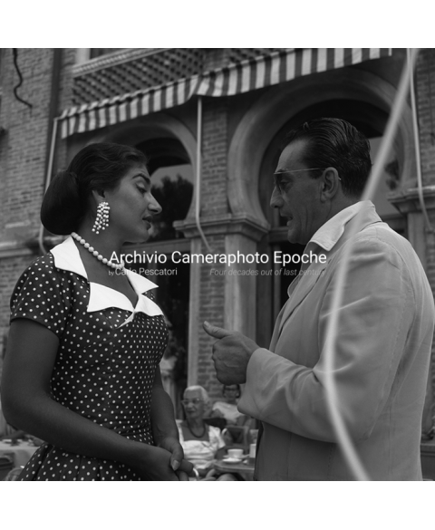 Maria Callas - With Luchino Visconti