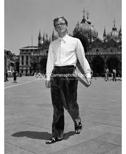 Truman Capote - Walking In St. Mark Square