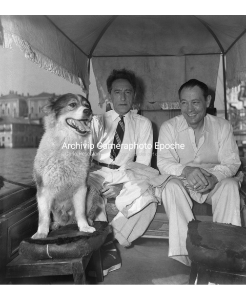 Jean Cocteau - With Roberto Rossellini
