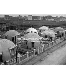 Igloo houses, Milan 1951