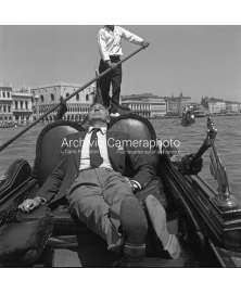 Sunbathing On a Gondola