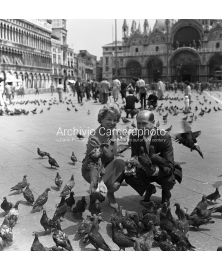Posing With Pigeons
