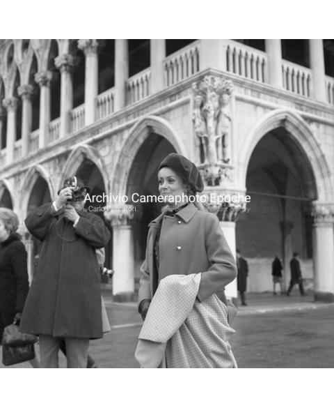 Catherine Deneuve - In St. Mark Square