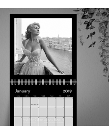 Ladies 01 Wall Calendar 2019.