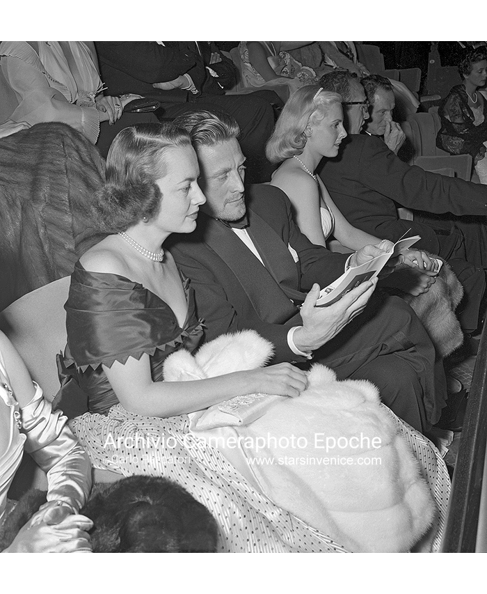 Kirk Douglas - Among The Audience