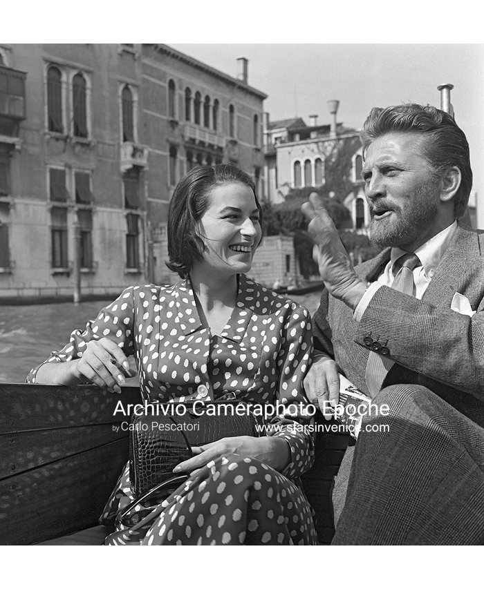 Kirk Douglas - On A Water Taxi