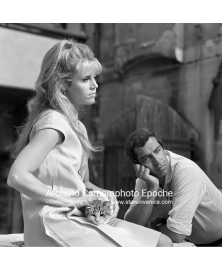 With Roger Vadim