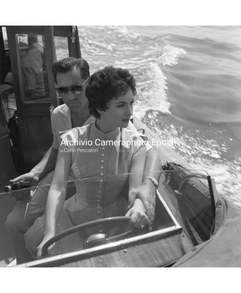 Gina Lollobrigida - Driving The Water Taxi