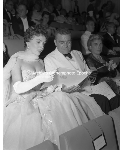 Gina Lollobrigida - At The Movie Festival
