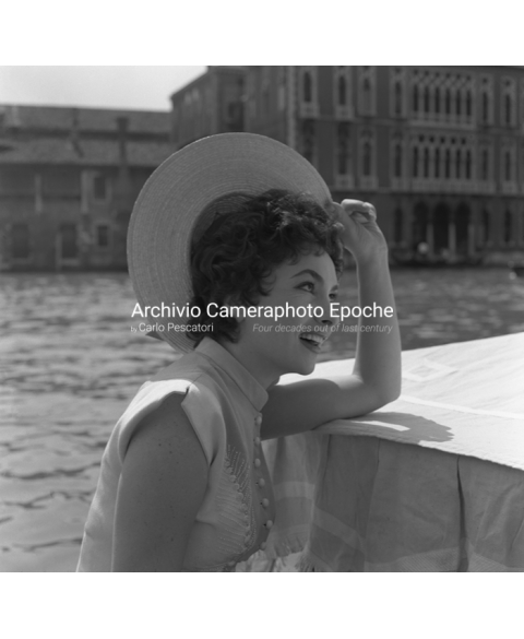 Gina Lollobrigida - On The Canal Grande