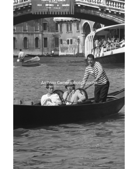 Mick Jagger - On A Gondola Tour