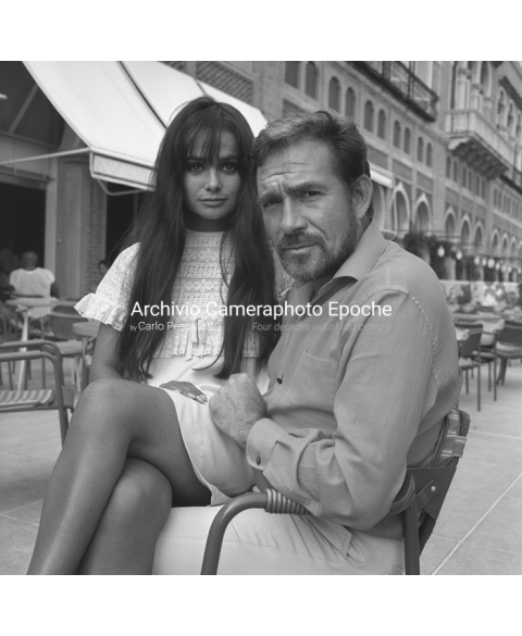 Ugo Tognazzi - With Marisa Solinas