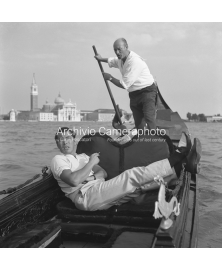 Toshiro Mifune On The Gondola