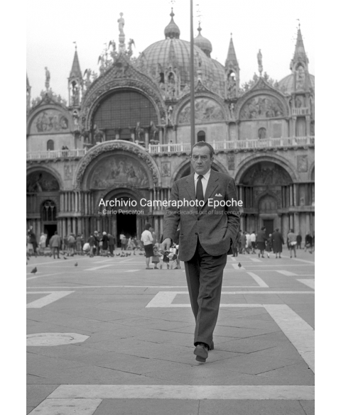 Luchino Visconti - Walking in St. Mark Square