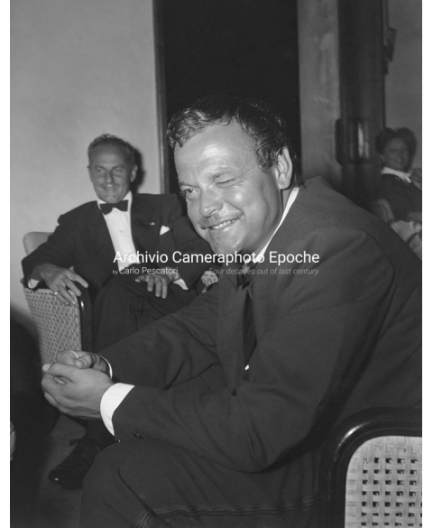 Orson Welles - Winking At The Camera