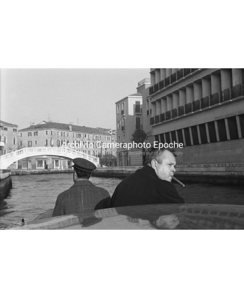 Orson Welles - A Trip In Water Taxi