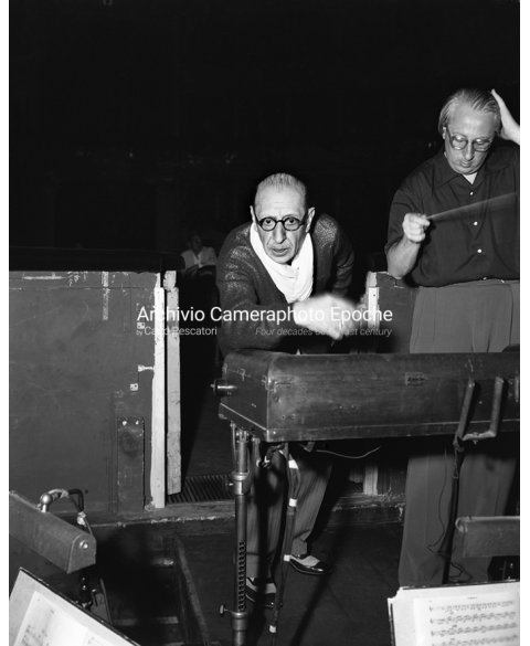 Igor Stravinsky - Practicing Before The Concert