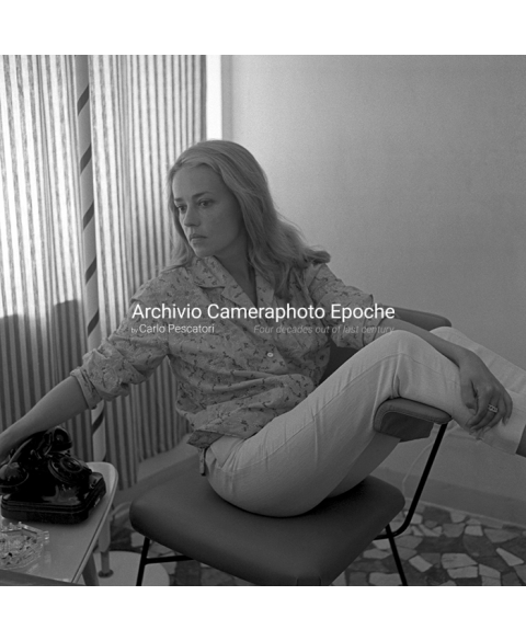 Jeanne Moreau - Sitting On A Chair