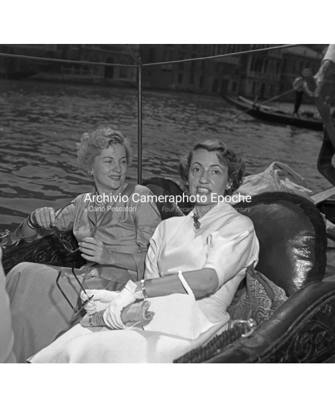 Joan Fontaine - On The Gondola